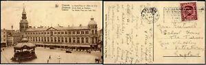 Belgium 1931 Ostende Postcard to England Postage Slogan Postal History