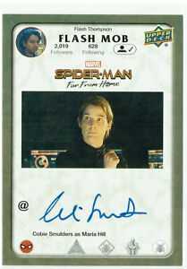 Spider-Man Far From Home Autograph Card FM-SC Cobie Smulders as as Maria Hill
