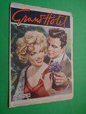 GRAND HOTEL 1953 349 VALTER MOLINO DISEGNA cover MARILYN MONROE E ROBERT MITCHUM