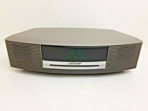 Bose Wave Music System CD Player AM/FM Radio RDS Alarm Clock Aux Remote Control