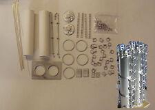 P&D Marsh N Gauge N Scale M15 Dry Bulk Skirted Silos (2) kit requires painting