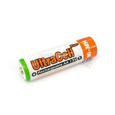 4 pcs AA 3200mAh NIMH Rechargeable Battery HR6 LR06 2A UltraCell Plus Orange