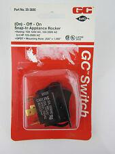 On-Off-On Snap-In Appliance Rocker Switch