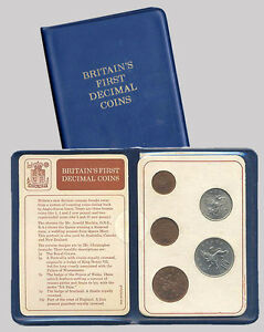Great Britain/UK 1971 - Britain's First Decimal Coins - Decimal Day (UNC)