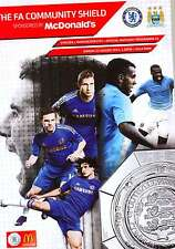 CHELSEA v MANCHESTER CITY 2012 COMMUNITY SHIELD MINT PROGRAMME