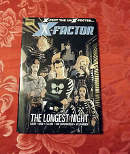 X-FACTOR Vol 1 TheLongest Night MARVEL PREMIERE EDITION Hardcover HC Ryan Sook
