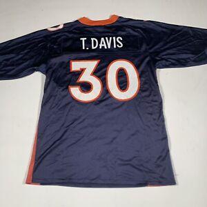 Terrell Davis Reebok Replica Denver Broncos Jersey #30 Medium