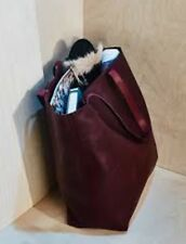 MADEWELL 'The Transport' Leather Tote $168+ Rich Burgundy Color