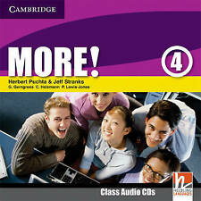 More! Level 4 Class Audio CDs (2), Lewis-Jones, Peter, Holzmann, Christian, Gern