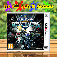 Metroid Prime Federation Force - Nintendo 3DS Game - New & Sealed