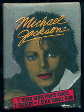 1984 Topps Bazooka gum Unopend Wax Pack Michael Jackson Red Lip Variant Rare