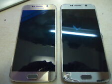SAMSUNG S6 TWO BROKEN PHONES NO POWER DONT KNOW PROBLEM 42€
