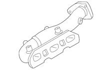 14002AL502 Nissan infiniti Exhaust Manifold 14002-AL502 6 Cyl 3.5 NEW OEM