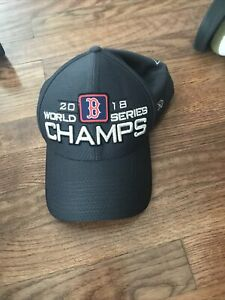 MLB 2018 Boston Red Sox World Series Champs Locker Room One Size Fits Most Hat