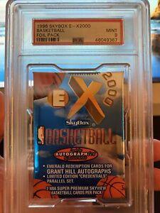 1996-97 FLEER SKYBOX EX2000 BASKETBALL Pack PSA 9 Kobe Credential RC? Pop 10🔥🔥