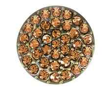 GINGER SNAPS™ BRASS RITZY-SMOKEY TOPAZ Jewelry-BUY 4, GET 5TH $6.95 SNAP FREE