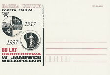 Poland postcard Gdansk - Janowiec Wlkp. 80 years of scouting