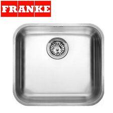 FRANKE GAX 110-45 GALASSIA 1.0 Bowl Undermount Kitchen Sink Stainless Steel