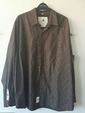 Rocha John Rocha Mens Button Up Leaf Pattern Shirt Size Large UK