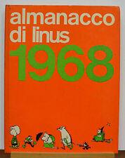 ALMANACCO DI LINUS 1968 MILANO LIBRI EDIZIONI 1967
