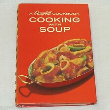 VINTAGE COOKBOOK CAMPBELL COOKING WITH SOUP 1973 RECIPE BOOK KITCHEN COIL BOUND