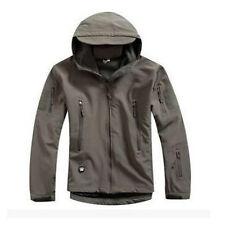 Men Military Outdoor Waterproof Hoodie Soft Shell Jacket Coat Windbreaker Last!