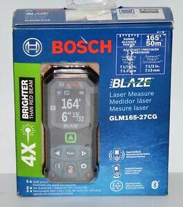 Bosch Blaze Glm165-27cg Green-Beam 165 Ft. Laser Measure