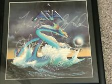 More details for asia autographed rock album sleeve  full band signatures 1982 rare valuable gem