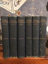 Very Rare John Peter Lange's Scripture Commentary, 1900 Partial Set, Six Volumes