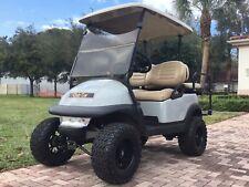 """2017 lifted Club car Precedent 4 Passenger seat Golf Cart 48 volt 48v 12"""" rims"""