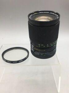 Soligor Zoom Macro 28-80mm C/D F:3.5-4.5 62 MC Lens Vintage - A18