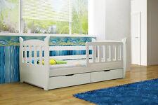 MILKY - Kinderbett Bett Kinderzimmer Holzbett mit Matratze