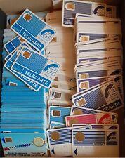 Lot télécartes anciennes