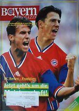 Programm 1993/94 FC Bayern München - Eintracht Frankfurt