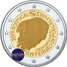 Pièce 2 euros commémorative PORTUGAL 2019 - 500 ans Tour du Monde de Magellan