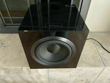 "Bowers Wilkins 700 Series Subwoofer 10"" 1000W DB4S Gloss Black B W B&W Powered"