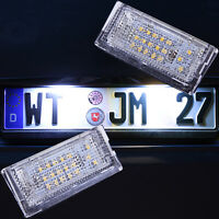 Set LED SMD Kennzeichenbeleuchtung BMW 3er E46 Limo Touring [7104]