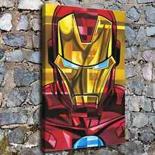 "12""x18""iron Man Poster HD Canvas print Painting Home Decor Picture Wall art"
