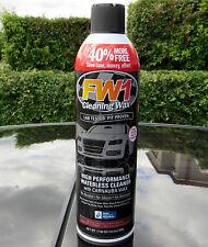 FW1 High Performance Cleaning Wash & Wax 496g Spray Car Polish Carnauba FASTWAX