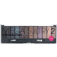 Technic 12 Eyeshadow Mega Sultry 2 Palette Kit Colours Make up Eye Shades Girls
