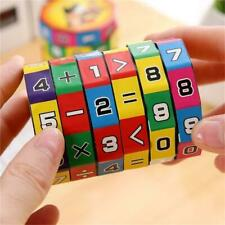 NEW Slide puzzle Mathematics Numbers Magic Cube Toy Kids Learn Education