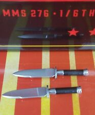 Genuine Hot Toys Commando Predator MMS276 Schwarzenegger 2 small knives only! US