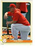 Mike Trout 2020 Topps Opening Day Spring has Sprung 5x7 #SHS-16 /49 Angels