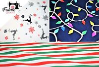 Soft Brushed Flannel 100% Cotton,Christmas Print Design,High Quality,110 cm Wide