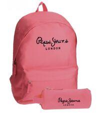 Pepe Jeans Harlow mochila escolar Rosa