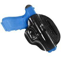 Cuero Cross draw holster para glock 17 19 22 23 25 26 27 31 32 34 37