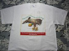 Large- Cat Lovers 2006 Humane Society Of America T- Shirt