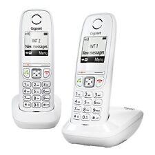 Gigaset As405 Duo Téléphone sans fil DECT GAP Blanc