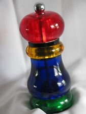 OLD THOMPSON  (USA) -  PEPPER  GRINDER  VINTAGE   MULTICOLOR
