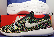 wholesale dealer 5dc7a aa50c Nike Flyknit Roshe Run Id Multicolor Talla 10 (718293-993)